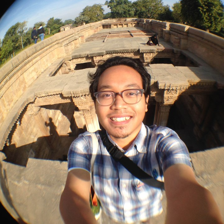 Selfie at Adalaj Stepwell