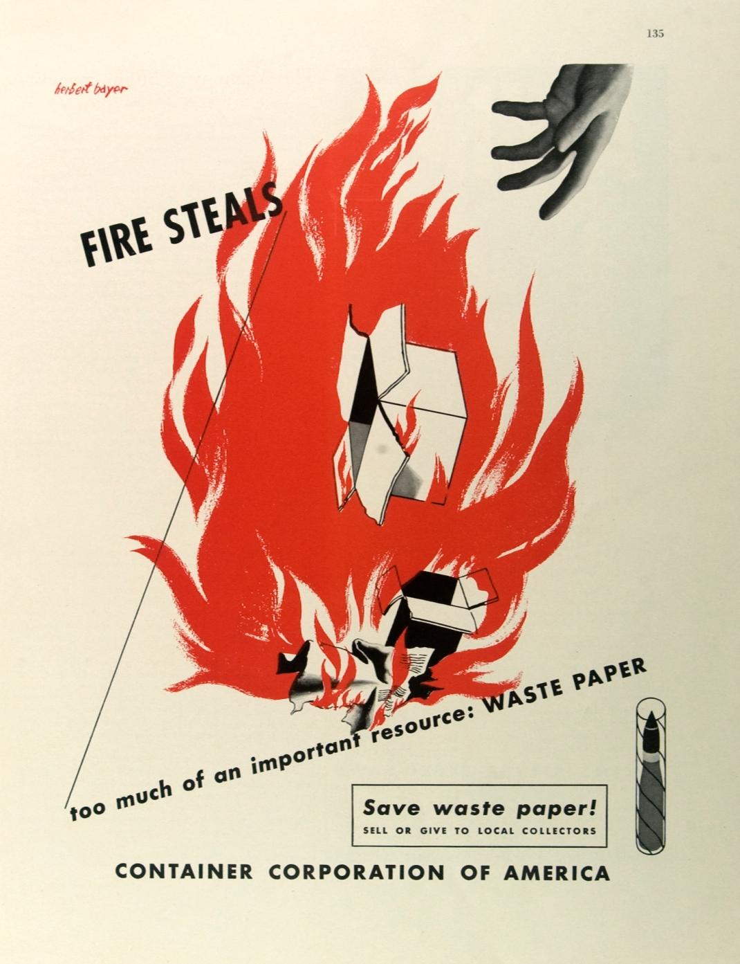 Poster rancangan Herbert Bayer