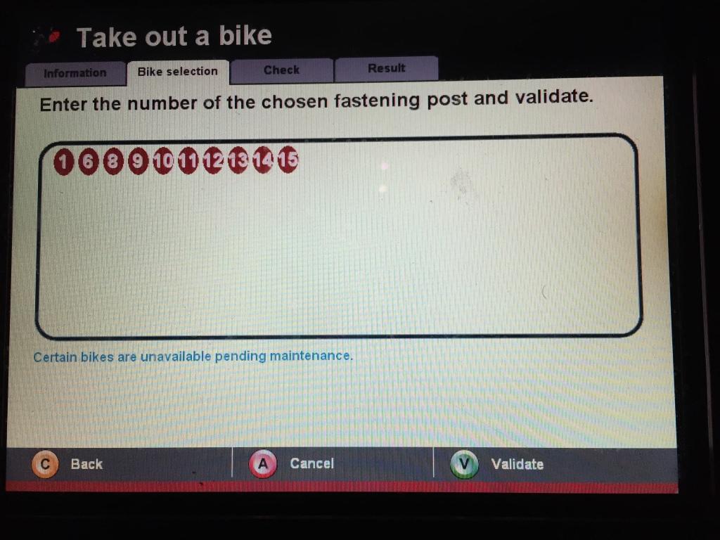Please choose the bike you like... :)