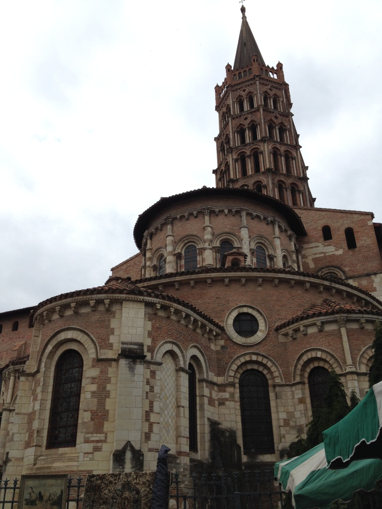 Saint Sernin Basilica, is largest Romanesque church in Europe.