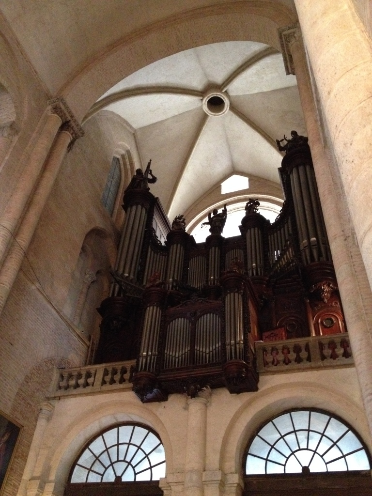 The church has the pipe organ, which is considered  to be the most beautiful in France.
